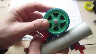 Удочка зимняя электрическая shimano wakasagi matic ddm-t blue
