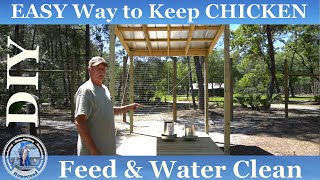 Backyard Chickens Setup # 11 How To Build Water Feeding Shed