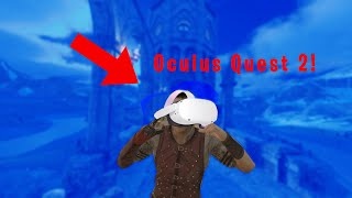 PLAYING BLADE AND SORCEY ON THE OCULUS QUEST 2 Blade and Sorcery VR Mods U8 Gameplay
