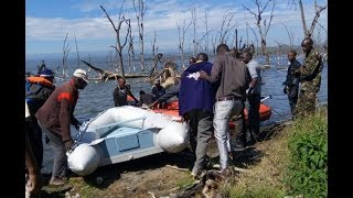 BREAKING NEWS: Two bodies of victims of Lake Nakuru helicopter crash recovered