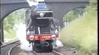 preview picture of video 'Part 2 Flying Scotsman on the Cromwell Pullman'