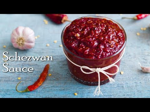 How To Make Schezwan Sauce At Home | Hot Schezwan Sauce Recipe ~ The Terrace Kitchen