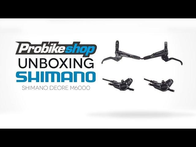 Видео Калипер дисковый гидравлический Shimano BR-M6000 DEORE Postmount