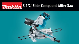 "MAKITA 8-1/2"" Slide Compound Miter Saw - Thumbnail"
