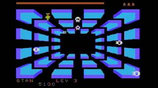 Space Bandits (TI-99/4A) gameplay footage [Speech Synthesizer]