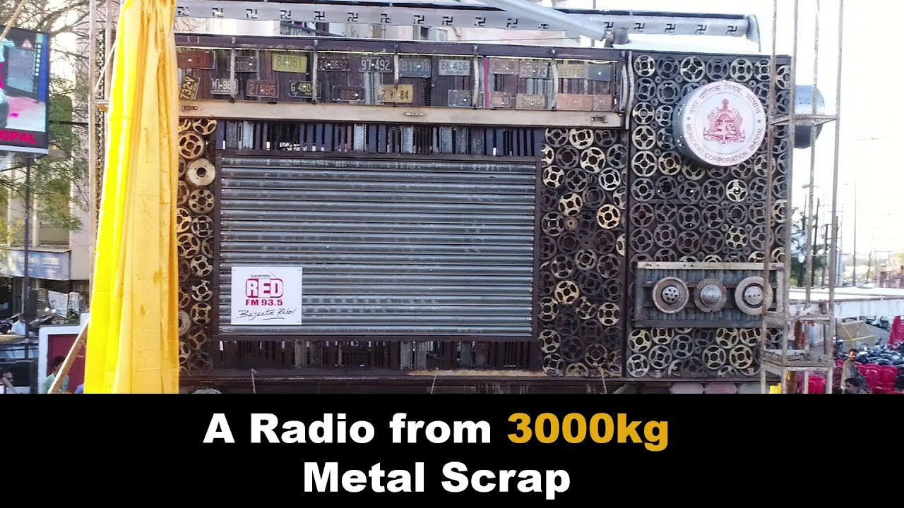 A Radio from 3000Kg of Metal Scrap | Kabaad Se Jugaad