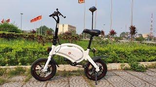 Mở Hộp và Chạy Thử Xe Đạp Điện Thông Minh F-Wheel DYU D3+