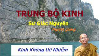 Kinh Trung Bộ - Sư Giác Nguyên - Không Uế Nhiễm
