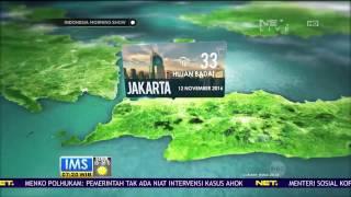 Prakiraan Cuaca Di KotaKota Besar Indonesia 12 November 2016