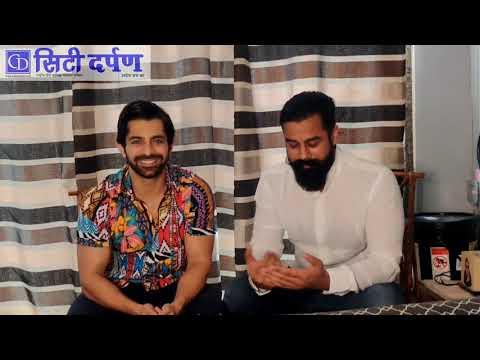 Exclusive Interview of TV Star Gaurav Wadhwa by Journalist Vinit Mudgil from Mumbai