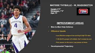 2019 NBA Draft: Matisse Thybulle - Improvement Areas