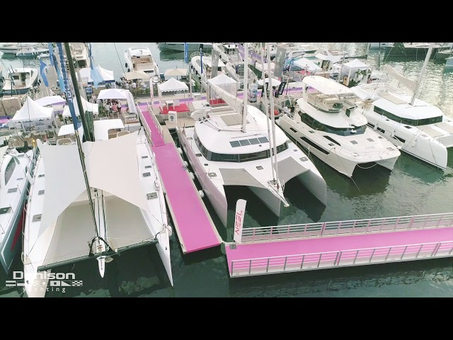 Catamaran Review w/ Wiley Sharp [Cannes Boat Show]