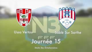N3 : Le résumé de USSA Vertou / Sablé FC