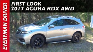 2017 Acura RDX AWD: First Look on Everyman Driver