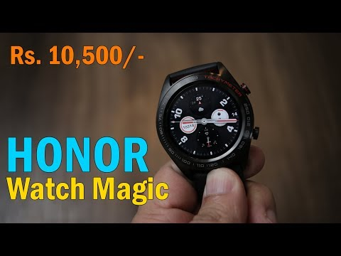 HONOR Watch Magic review - Smart Watch with AMOLED screen, now in India for Rs. 13,999