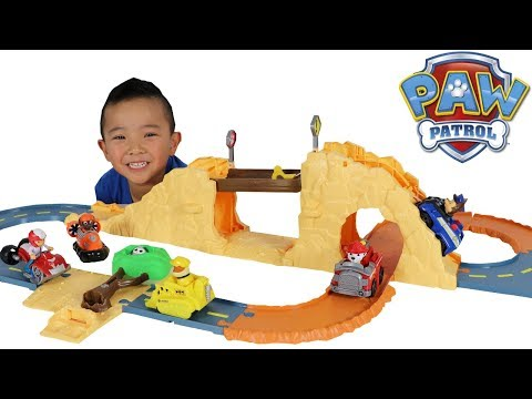 PAW Patrol Toys Chase's Off Road Rescue Playset Unboxing Fun With Ckn Toys