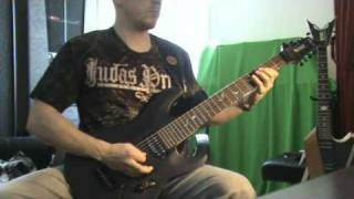 Judas Priest - Ram it Down - Guitar cover