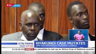 DPP Haji wants lawyer Nyakundi's manslaughter charges replaced with murder of his son