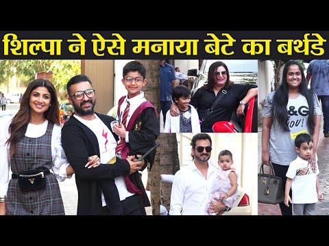Shilpa Shetty & Raj Kundra celebrate son Viaan Kundra's birthday; Watch Video   FilmiBeat
