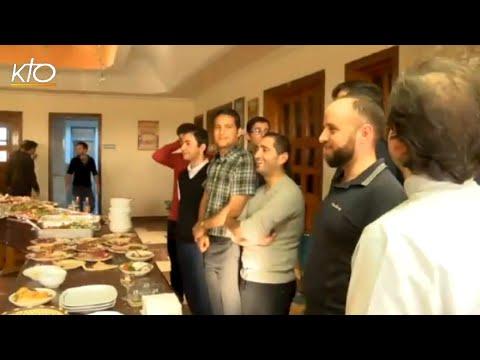 Les séminaristes d'Erbil et le départ