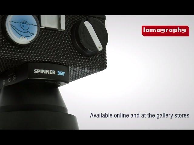 トイカメラの画風で、360度のパノラマ写真!Lomography Spinner 360°
