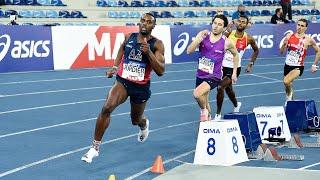 Miramas 2021 : Finale 400 m M (Thomas Jordier en 46''13)