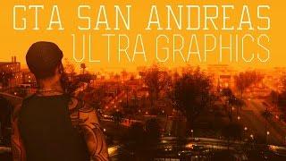 GTA San Andreas MODS: Ultra graphics (textures, enb, cars, lights, skins, vegetations) RELEASE
