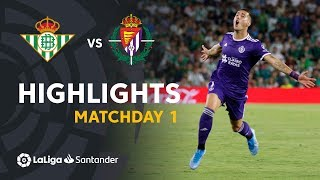 Real Betis Real Valladolid live score, video stream and H2H