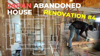 Japanese Abandoned House Renovation #4 | Interior Design, Japanese Carpenters At Work
