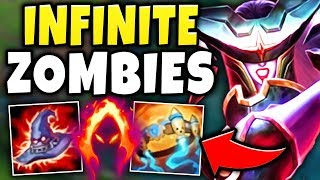 ULTRA-NUKE LISSANDRA IS 100% TOO STRONG! SUMMON AN ARMY OF ZOMBIE BOMBS! - League of Legends