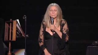 Barbra Streisand Windmills Of Your Mind Live 2011