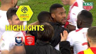 SM Caen - Nîmes Olympique ( 1-2 ) - Highlights - (SMC - NIMES) / 2018-19