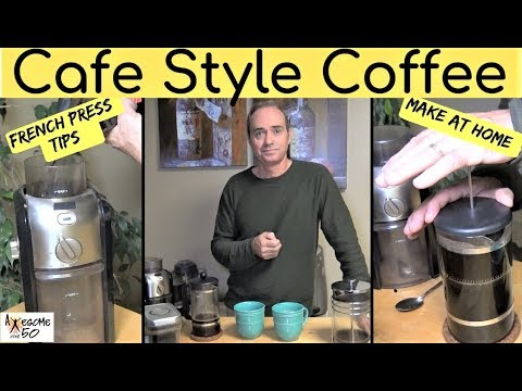 How to make Gourmet, French Pressed Coffee at Home, Tips & Tutorial