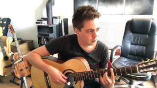 Stranger In A Strange Land (Iron Maiden) Guitar solo & Bass solo at the same time! Thomas Zwijsen