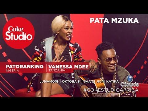 Vanessa Mdee na Patoranking katika Coke Studio Africa