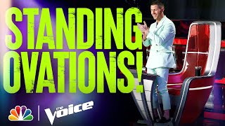 The Coaches Give Standing Ovations for These Performances - The Voice 2021