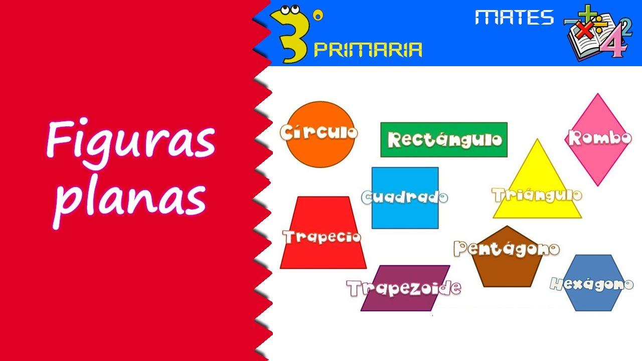 Matemáticas. 3º Primaria. Tema 4. Figuras planas