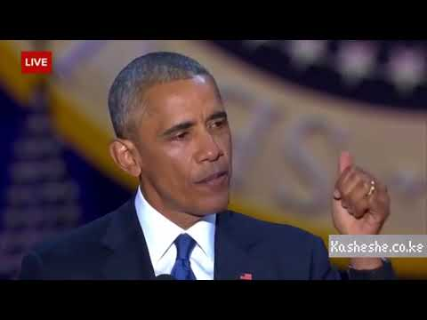Rib Cracking Obama Speech??