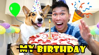 Corgi's Bday BUT It's Actually My Birthday! || Life After College: Ep. 683
