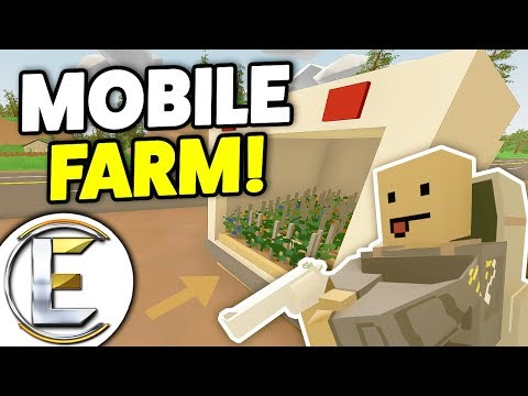MOBILE FARM! - Unturned RP Rags To Riches #1 (Berry Farm On The Back Of A Truck)