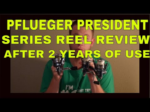 "Pflueger President 6935 Spinning Reel – After 2 Years ""REAL REVIEW"" – 2017"
