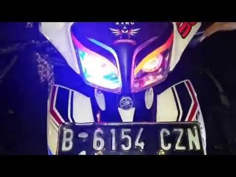 Video MODIF LAMPU JUPITER Z1 RC TANGERANG