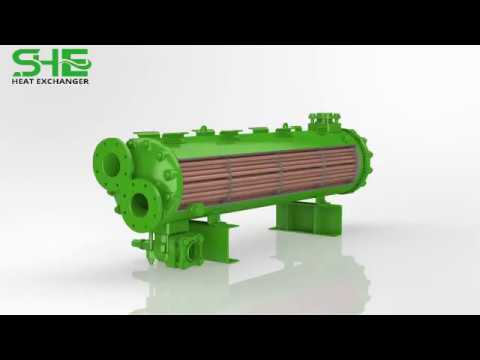 Aluminium Tube Heat Exchanger