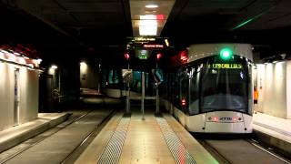 preview picture of video 'Marseille tramway: tunnel Noailles (2012)'