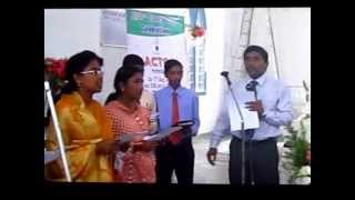 ACTC Hyderabad William Carey Celebration -2012 Song written by Rev.G.Moses - Chaplian .wmv