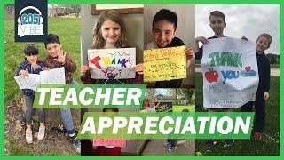 Teacher Appreciation Day- Thank You!