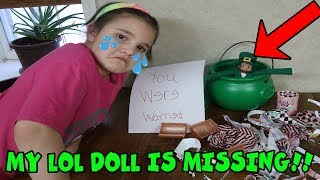 Leprechaun Elf On The Shelf Took My LOL Dolls!