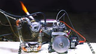 See Through Engine on TURBO NITRO & EFI (E.7)