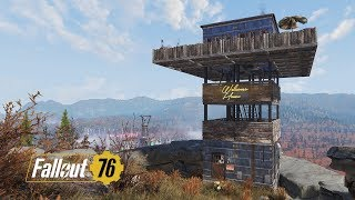 Fallout 76 Tower Camp (Moveable Camp Fail)