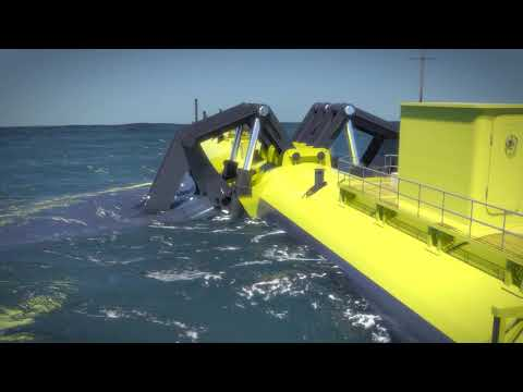 Design for world's most powerful tidal turbine